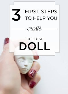 the first important steps before actual sculpting. + FREE PRINTABLE by Adele Po.