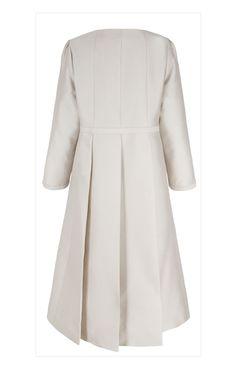 Suzannah Trapeze Line Coat Cream Wool £750.00   Pippa's Wardrobe ...