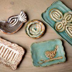 Etta B Pottery--Handmade and hand glazed, each piece is one-of-a-kind beautiful!