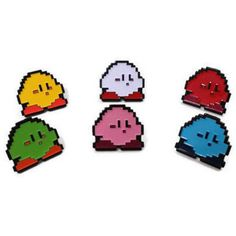 SECONDS Kirby Enamel Pins