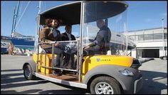 L'institut National de recherche en informatique et en automatique (INRIA) a lancé une démonstration à La Rochelle d'un système de minibus électrique sans chauffeur sur un parcours urbain de 800 mètres. Cette expérimentation fait partie du projet européen Citymobil auquel a contribué l'équipe IMARA (Informatique, Mathématiques et Automatique pour la Route Automatisée). Minibus, Chauffeur, Automobile, Vehicles, Computer Science, Urban, Search, Car, Motor Car