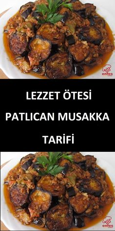 Patlıcan Musakka Tarifi How to make Eggplant Moussaka Recipe? You can make eggplant moussaka, which is the perfect harmony of minced meat and eggplant, in the oven or in the pot. Eggplant Moussaka, Turkish Recipes, Ethnic Recipes, Musaka, Turkish Kitchen, Mozzarella, Best Meat, Cooking Instructions, Iftar