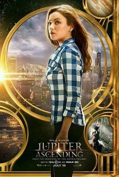 Mila Kunis protagoniza este póster de Jupiter Ascending, la nueva película de los creadores de Matrix