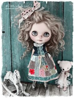 Doll and outfit by Petite Apple