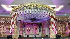 Weddings Discover 28 New Ideas For Wedding Venues Garden Reception Ideas Wedding Hall Decorations, Marriage Decoration, Backdrop Decorations, Backdrops, Arch Decoration, Wedding Stage Design, Wedding Designs, Indian Wedding Pictures, Wedding Mandap