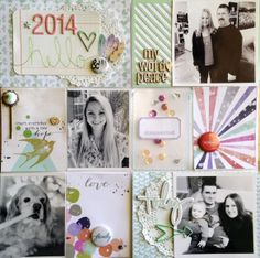 2014 Project Life cover page by Lisa H at @Studio_Calico