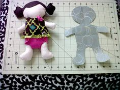 Becoming Martha: Rag Doll Tutorial