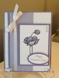 Stampin Up! Simply Sketched Mother's Day card