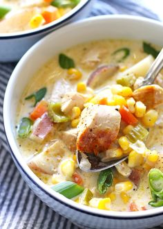 Http Www Food Com Recipe Chicken Corn Chowder Quick