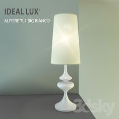 IDEAL LUX / ALFIERE TL1 BIG BIANCO
