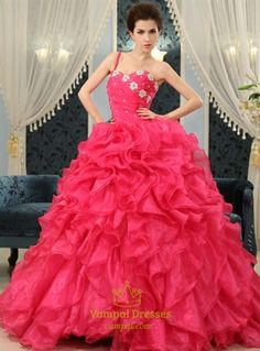 Picture of Ball Gown Ruffle Wedding Dress fa9a4368e1ff