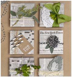 Idea para envolver regalos - 7