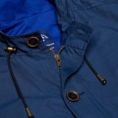 Bleu de Paname Short Gabardine Jacket (Indigo)
