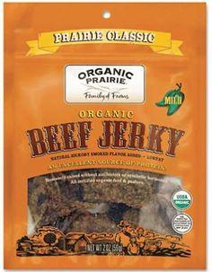 Organic Prairie Organic Beef Jerky Prairie Classic  Albertson, Marlene's, Nature's Market