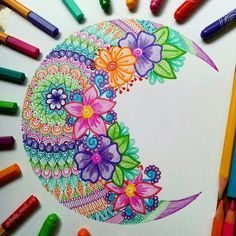 *join skill share now for 2 months of free membership (link in bio) Dibujos Zentangle Art, Zentangle Drawings, Zentangle Patterns, Art Drawings, Zentangles, Doodle Patterns, Doodle Borders, Mandala Art, Mandala Drawing