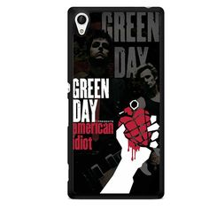 Green Day Poster TATUM-4860 Sony Phonecase Cover For Xperia Z1, Xperia Z2, Xperia Z3, Xperia Z4, Xperia Z5