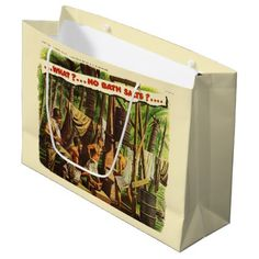 True Towel Tales No. 3 Large Gift Bag - craft supplies diy custom design supply special