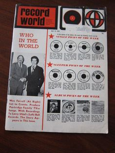Record World Magazine (4-18-70)