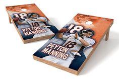 Peyton Manning NFL Cornhole Board Set (Denver Broncos)