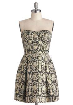 Decadent the Halls Dress, #ModCloth