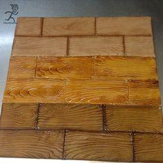 Fondant WoodGrain Board done 3 Ways