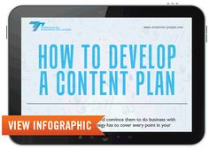 How to Develop a Content Plan [INFOGRAPHIC]