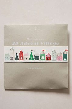 Village Tree Advent Calendar