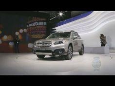 2015 Subaru Outback - 2014 New York Auto Show