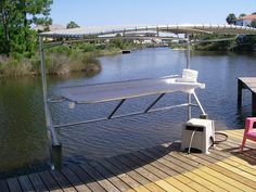 Show Me Your Fish Cleaning Station - The Hull Truth - Boating and Fishing Forum Fish Cleaning Table, Fish Cleaning Station, Lake Dock, Floating Dock, Fishing Charters, Modern Tropical, Life Is An Adventure, Interior And Exterior, Outdoor Decor