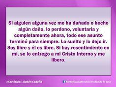 """Rubén Cedeño """"Servicios"""" Perdona y deja ir # Paz"""