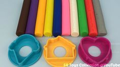 Play Doh Modelling Clay with Ice Cream and Heart Shaped Cutters