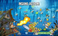 Best Games Apps For Android Mobile: Game Swamp Attack v1.9.0 Apk