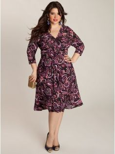 Sommer Plus Size Draped Dress. They are out of stock now but I'm going to keep checking back!! :)