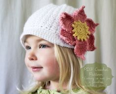 Instant Download PATTERN The Ginny Cap par NaturallyNoraCrochet