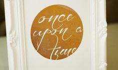 Once Upon a Time Foil Print