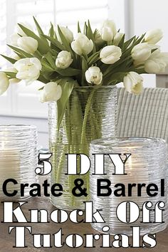 I LOVE Crate &Barrel. I love everything about it, except the price tag. Sometimes I am just in the mood for a change and $40 for a vase or $300 for a side table is just not in the budget. Fortu…