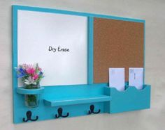 Mail Organizer White Board Mail Organizer Large by LegacyStudio