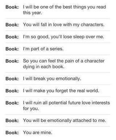 That's what The Mortal Instruments & The Infernal Devices did to me. Curse you Cassandra Clare! Curse you! <<<<<< it was every singe fandom I'm in for me. I think I win I Love Books, Good Books, Books To Read, My Books, Amazing Books, Book Memes, Book Quotes, Book Of Life, The Book