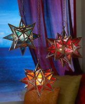 Moroccan Style Star Lanterns