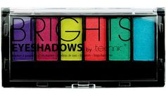 Η Technic Brights 6pc  Eyeshadow είναι μία κασετίνα σκιών, που περιλαμβάνει 6 έντονες, φλούο αποχρώσεις. Τα χρώματα είναι ιδανικά για να δημιουργήσετε ένα φωτεινό και ιδιαίτερο μακιγιάζ. Χρησιμοποιήστε ξεχωριστά την κάθε σκιά ή συνδυάστε τις αποχρώσεις. Η κασετίνα περιέχει και πιν