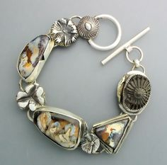 Three Opals and a Fossil by Temi on Etsy, $270.00