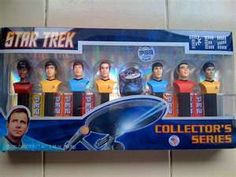 Star Trek Pez dispensers