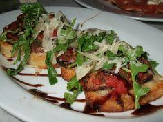 Hands down best bruschetta..I'm over the moon I found this! Italian Chain Restaurant Recipes: Brio Steak Bruschetta