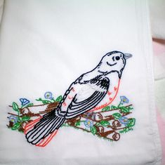 Images For > Hand Embroidery Birds Designs