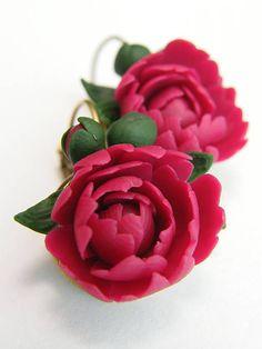 eglantineART / Náušnice kvety