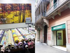Barcelona shopping is not famous for fabric, but when on vacation, I love seeking out local textiles. It's so much fun to explore tradersmarkets and fabric stores, looking for artisan…