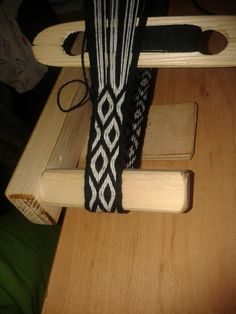 Made for my friend :) Tablet weaving - belt