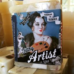"""Filthy Artist Soap """"Master the art of bathing."""""""