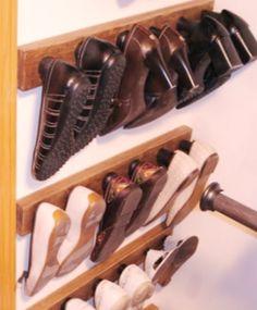 Simple Shoe Storage :: Hometalk