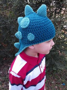 Dinosaur Themed Beanie Unisex Any Colors dinosaur hat dinosaurs winter hat boys hat photo prop lizard hat toddler hat (22.95 USD) by HooksBobbinsBoutique